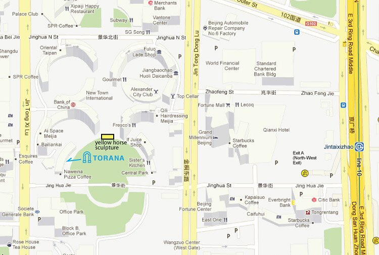 address Torana Clean Air Center Central Park Beijing map